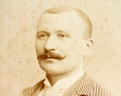 Antique Photograph Cabinet Card of Man from St. Louis Missouri (c.1893) - Collectible, altered art, and more