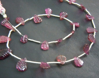 Tourmaline Briolette Carving Pear Drops Gemstone AAA Quality 8 Inches Size 4x6mm To 5x12MM Approx Tourmaline Beads