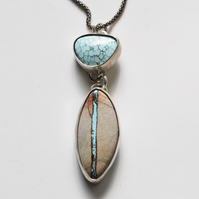 Royston ribbon turquoise and nevada turquoise create this for Royston ribbon turquoise jewelry