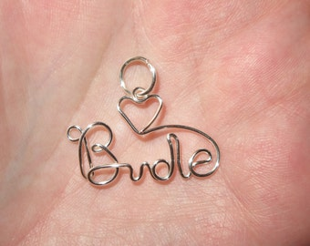 Wire Wrapped Bride MADE to ORDER Pendant