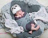 Walrus Hat Beanie Newborn Photography Prop Newborn thru 6 months available
