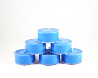 Jamaica Me Crazy Scented Soy Tea Light Candles - Set of 6