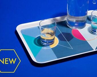 SALE Geometric 'Shapes' melamine serving tray