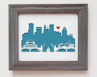 Baltimore, MD  Personalized Gift or Wedding Gift