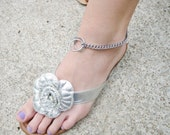 Silver Chain Anklet, Dog Choke Chain Anklets