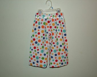 Multi-Color Dot  Pants