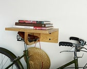 The BikeAll.  Prices reflect savings - Indoor Bike Rack (Ships for Free) shelf with hooks