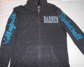Customized Sparkle Hoodie with Glitter Letters