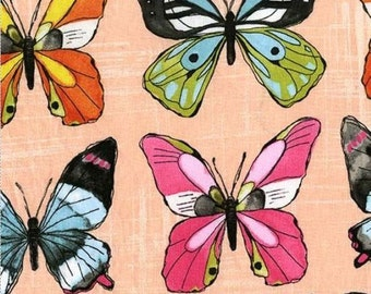 Flutter - Flutter Fly Butterfly Candy - Cotton Fabric by Laura Gunn from Michael Miller
