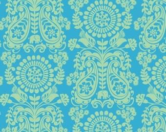 SALE - Global Bazaar Chimera Blue - Cotton Print Fabric from Blend Fabrics