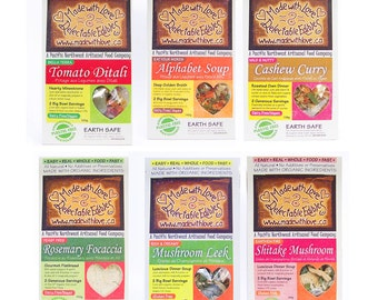 Artisan's Dozen Magic Meals - Gourmet Groceries - DIY Soup Mix - Bread Mix - Roasted Oven Dinner Mix - Organic - Easy Real Whole Food Fast