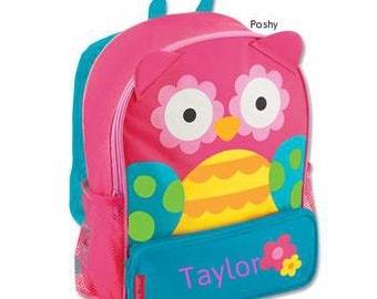 Personalized Toddler Backpack Owl