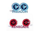 Paragon or Renegade Stud Earrings Gamer