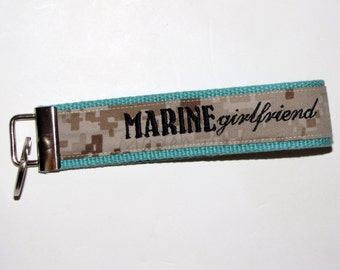 Marine Girlfriend Key Fob