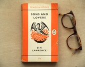 Vintage penguin paperback Sons and Lovers by D. H. Lawrence