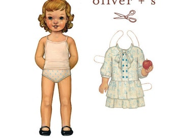Apple-Picking Dress Pattern by Oliver & S, size 5 - 12