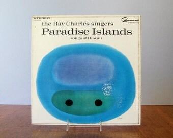 Vintage George Giuisti Album Cover - Mid Century Graphic Design