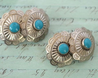 SALE! Southwest Style Metal Cuff Buttons