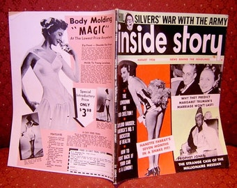 Book Inside Story Hollywood Gossip Magazine 1956