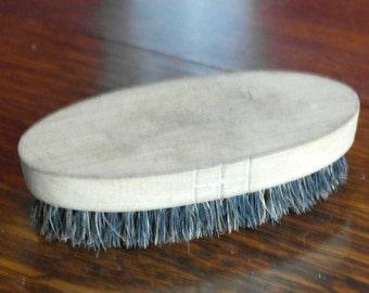 vintage bristle floor brush