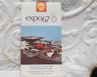 Expo 67 Shell Map