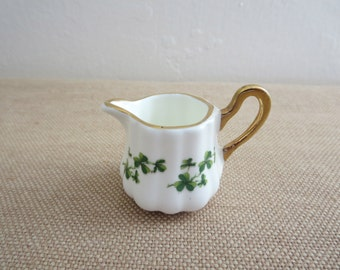 Saint Patrick Creamer Shamrock English Bone China