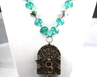 The Magic Entrance Book Geek Girl Necklace