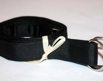 Adult Black Belt Adjustable D Ring Belt Military Belt Black Narrow Belt Ladies Webbing Belt Ladies Black Belt Uniform Belt Black D Ring