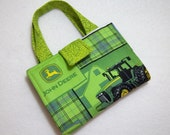 John Deere Print Crayon Wallet.Free USPS First Class Shipping/ Ready to ship.