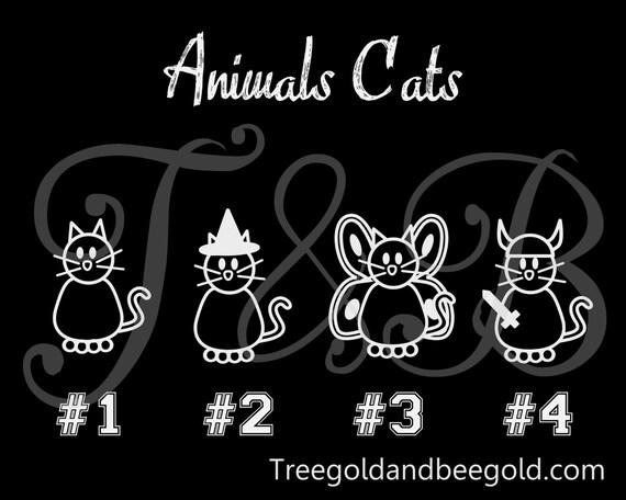 Viking Cat Vinyl Decals