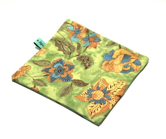 Reusable Snack Bag - Reusable Sandwich Bag - Large and Small Floral Print