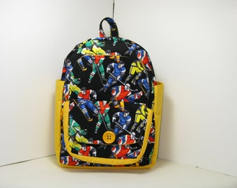 Hockey All Stars Preschool Backpack