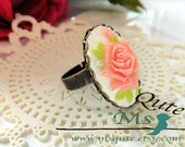 Romantic Rose Ring - Pink