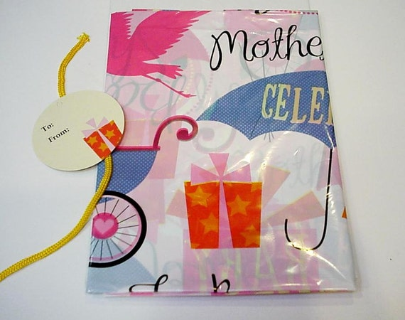 Baby Gift Sack : Baby shower giant gift bag extra large plastic sack