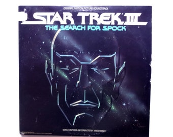 Vintage Star Trek Search for Spock Soundtrack Vinyl LP 1984