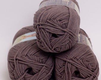 Lion Brand Cotton Ease Taupe