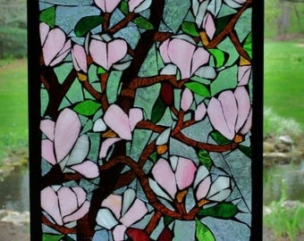 Stained Glass Applique Window Art
