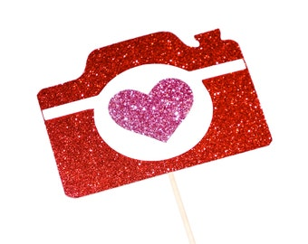 Vintage LOVE Camera - Great Photobooth Props - Valentines Day Photo Booth Props