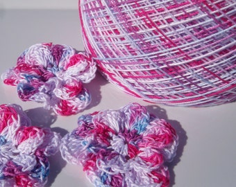 Cinderella ***Limited Supply*** - Hand Dyed Size 10 Crochet Cotton - Project Size - 150, 200, 250 or 300 Yards