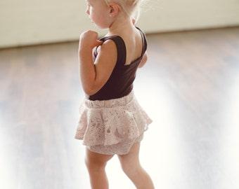 Peplum Lace Shorts