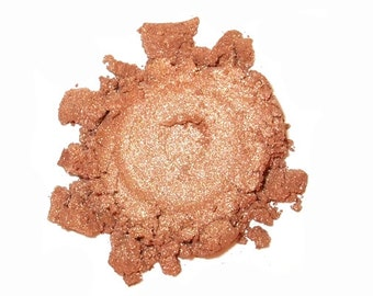 LUMINESSE Mineral Eye Shadow - 3 Grams or 5 Grams - Shimmery Bronze Gold