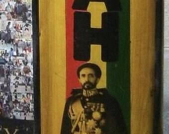 Haile Selassie I Jah Rastafari Nyabinghi Drum