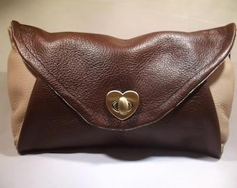 Leather Clutch Bag, envelope purse, leather purse, evening purse, evening clutch