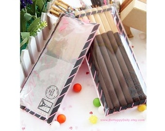 Eiffel Tower Paris AIRMAIL ENVELOPE Cellophane Bag, DIY Wedding, Cookie Bag, Sweet Bag, Gift Bag, Favor Bags: 10 bags