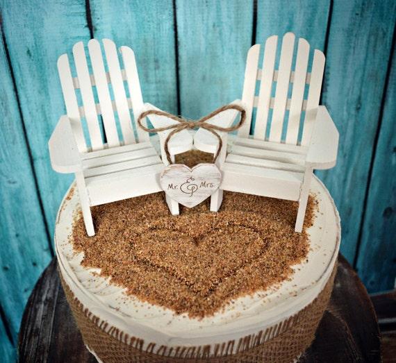Key West Wedding Ideas: White Adirondack Chairs-beach Chairs-beach-wedding-cake