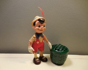 Vintage Walt Disney Pinnochio Figurine Toy