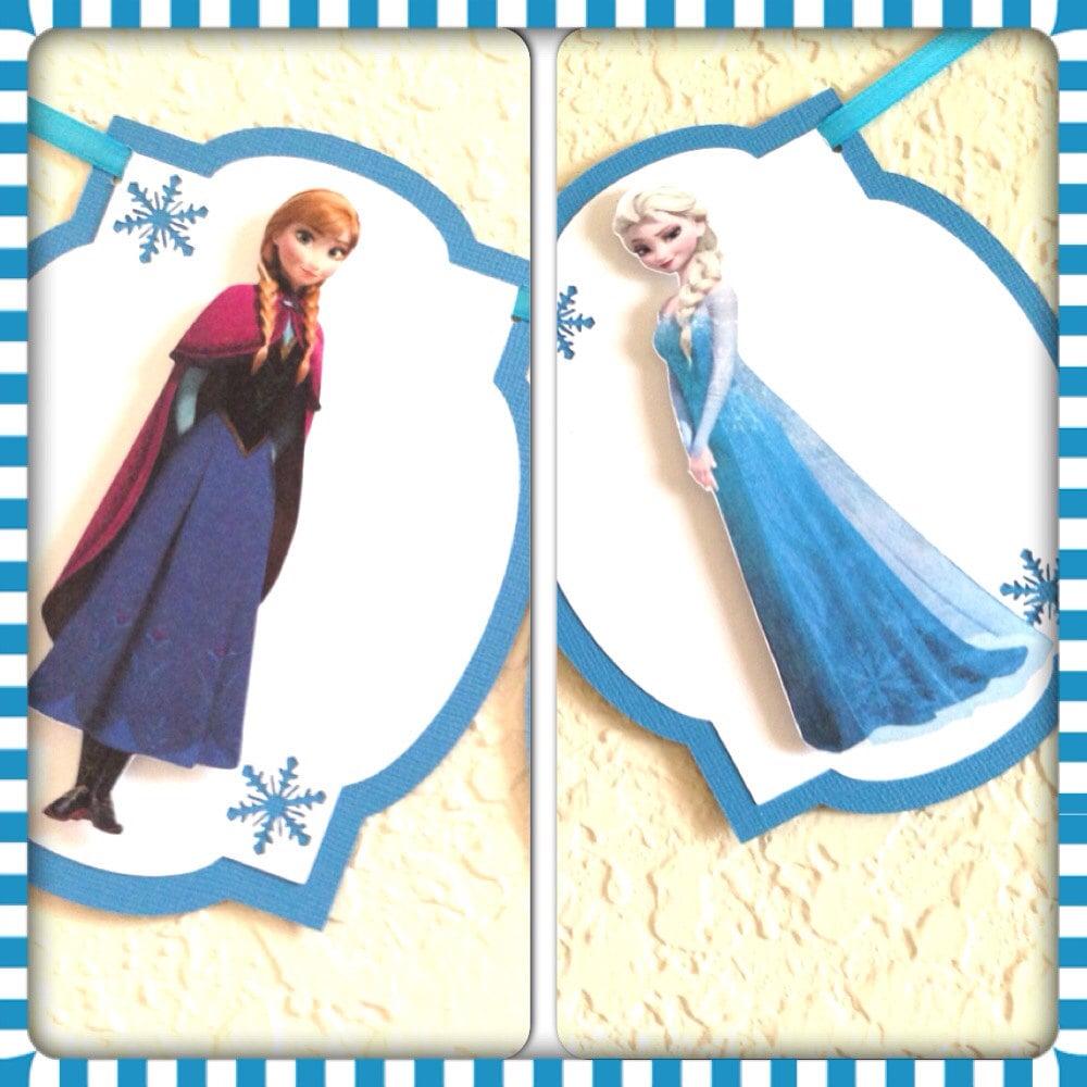 Frozen Birthday Banner Printable Frozen Banner Party By: Frozen Birthday Banner Frozen Happy Birthday Banner By
