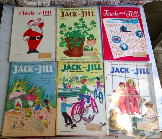 Jack And Jill Magazines Vintage Magazines Jack And Jill 6