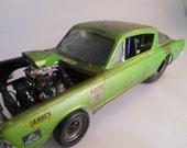 Classicwrecks, Scale Model, Rusted Car,Junker,Plymouth Barracuda
