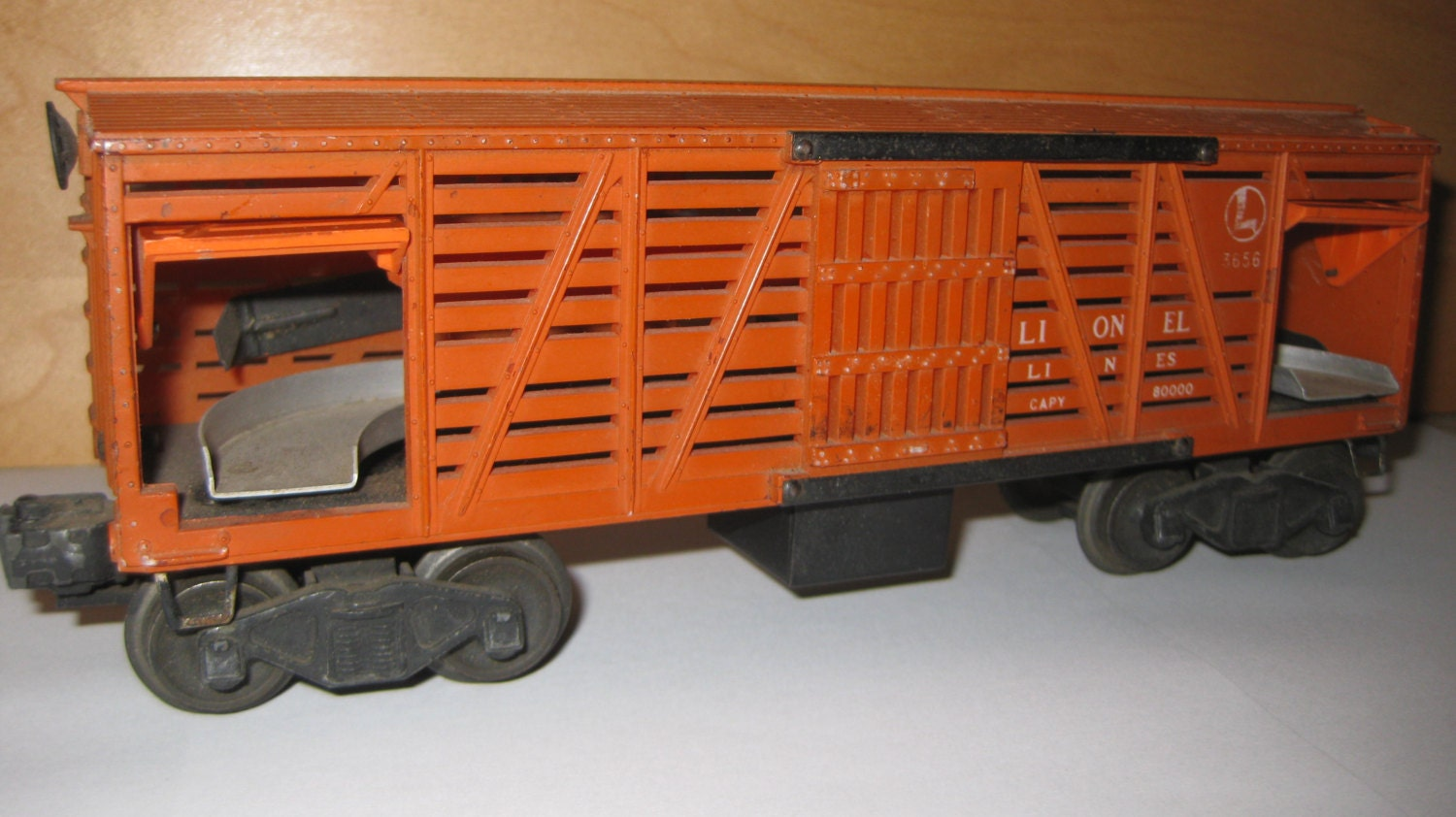 Wiring Diagram Lionel Cattle Car : Lionel cattle car no rust collectible on sale